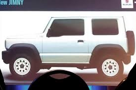 2018 suzuki truck. beautiful truck 2018 suzuki jimny leaked online before itu0027s official reveal and suzuki truck x