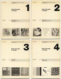 Maier, Manfred: BASIC PRINCIPLES OF DESIGN. New York: Van Nostrand Reinhold  Company, 1977. 4 Volume Set.