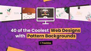Web Design Patterns 40 Of The Coolest Web Designs With Pattern Backgrounds