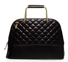 Zara QUILTED LEATHER CITYBAG WITH METAL HANDLES   The Style Spy & Zara QUILTED LEATHER CITYBAG WITH METAL HANDLES Adamdwight.com