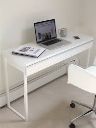 ikea besta burs desk high gloss white