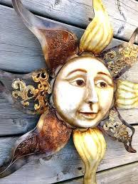 sun face wall decor sun face garden decor sun face wall decor outdoor sun face wall