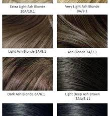 Light Brown Hair Color Chart Fooru Me