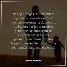Citation Du Jour Attitude Pensée Positive Ne Regrette Pas