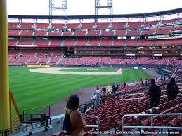 Busch Stadium View From Left Field Box 169 Vivid Seats