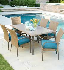 outdoor dining sets for 6. Simple Dining Perfect Outdoor Dining Sets For 6 Hampton Bay Corranade 7 Piece Wicker  Set With U