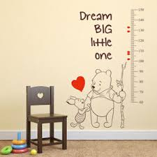 Winnie The Pooh Reward Chart Details About Winnie The Pooh Growth Chart Height Measure Vinyl Kid Room Nursery Wall Sticker