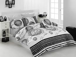 new blacky single quilt cover set eu it 164nzn18222 black white