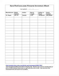 Office Inventory Spreadsheet Blank Inventory Sheets Printable 650 840 Office