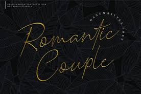 Browse a unique collection of the best svg fonts and thousands of free typefaces for design. Romantic Couple Font By Typelinestudio Creative Fabrica Signature Fonts Elegant Couple Romantic Couples