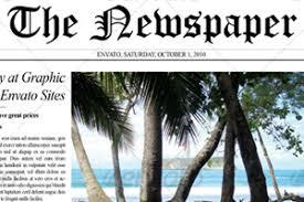 Newspaper Template Psd Free - Tier.brianhenry.co
