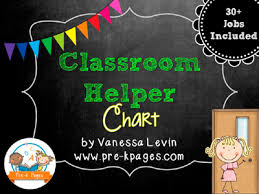 Pre K Job Chart Pictures Classroom Helpers Chart In Preschool