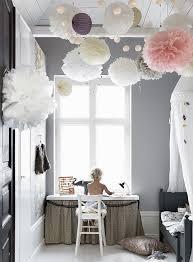 kids room cute kids bedroom lighting. Paper Pom Poms In Scandinavian Kids Bedroom Sfgirlbybay Room Cute Lighting N