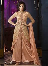 Best Designer Salwar Suits Online Buy Tiptop Embroidery Work Palazzo Style Designer Salwar