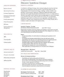 operations manager cv sumptuous design manager resume examples 12 business operations