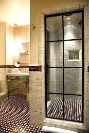 black framed shower doors steel framed shower doors steel and glass shower enclosure black steel framed