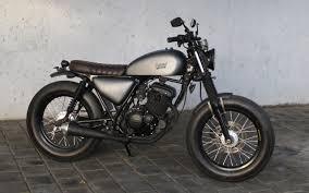 suzuki gsx thunder 125 bobber island motorcycles