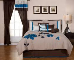 interior scenic com fashion street olive gramercy piece comforter sete brown and blue quilts bedding sets