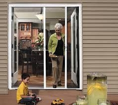 Diy Screen Door Kit Backyards How Install Aluminum Swinging Security Screen Door