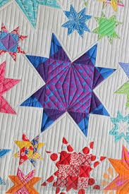 Piece N Quilt: Modern Star Quilt - Custom Machine Quilting by ... & Modern Star Quilt - Custom Machine Quilting by Natalia Bonner Adamdwight.com