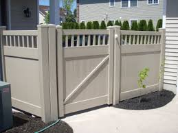 Vinyl fence styles Colored Vinyl Chestertown Deptford Fence Company Vinyl Fence Styles Deptford Fence South Jersey