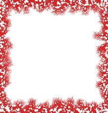 christmas snowflake border. Unique Snowflake Christmas Border With Snowflakes Vector  Inside Snowflake Border O