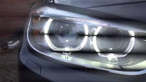 Bmw Bi Xenon Lights 2015 Bmw F30 330d M Sport Bi Xenon Headlights Close Up Youtube