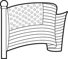 Small Picture Free Printable American Flag Coloring Page for Kids