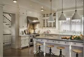 white kitchen pendant lighting. Pendant Lights White Kitchen With Bridge Gooseneck Faucet Over Undermount Ceramic Sink Adhered By Solid Surface Lighting F