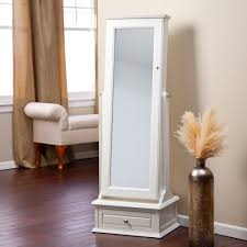 floor standing mirror jewelry armoire incredible old full length free fulllength inside 11