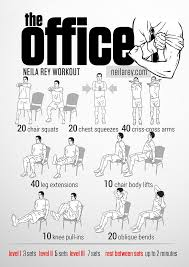 office workout by neila rey the corporate version of the jailhouse workout routine how many hours a day are you confined to a cubicle to resort to this bit