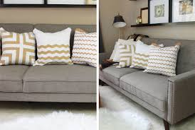 Designer Decorative Pillows For Couch DIY Designer Throw Pillows As Low as 100 To Make 33