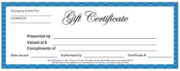 Microsoft Word Gift Certificate Template Download Blank Gift Certificate Templates