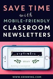 Newletter Formats Classroom Newsletter Templates Editable Shiplap Themed