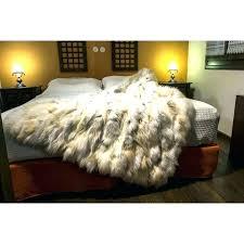 faux fur bedding sets x9256 real fur comforter faux fur bedspread king fur bedspread golden real