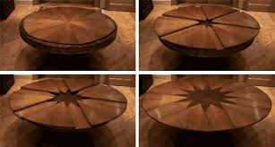 expanding round table. Expending-round-dining-table-by-Fletcher-Capstan-with- Expanding Round Table