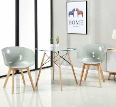 Runder Gehärtetes Glas Tischplatte Esstisch Rund Küchentisch
