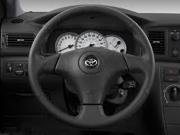 Image: 2008 Toyota Corolla 4-door Sedan Auto S (Natl) Steering ...