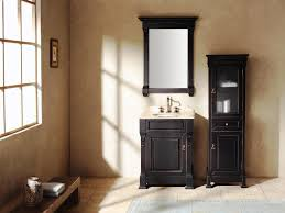Raising Bathroom Vanity Height White Wooden Vanity Plus Storage Also Oval Sink On The Gray
