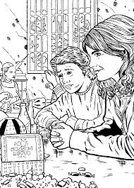 25 Coloring Pages Of Harry Potter