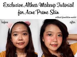 tutorial makeup takut wajah semakin berjerawat tapi harus makeup ini solusinya bahasa indonesia