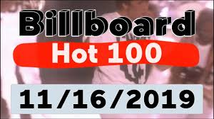 Billboard Hot 100 Top 100 Songs Of The Week November 16 2019