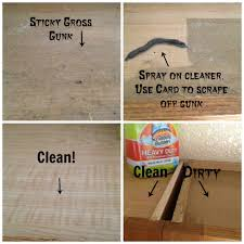 how to clean the tops of greasy kitchen
