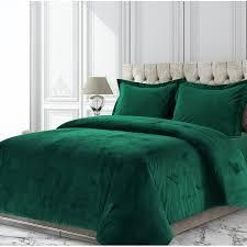 venice velvet oversized solid duvet cover set free today 24401541