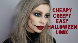 y creepy super quick easy makeup look you