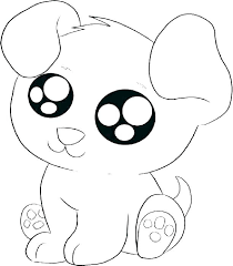 Puppy Dog Coloring Page Doggy Pages Pals Printable Cute Puppies