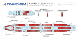 Boeing 747 Seating Chart Transaero Russian Airlines Aircraft Seatmaps Airline
