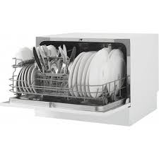 danby 22 front control countertop dishwasher with stainless steel tub white ddw621wdb best