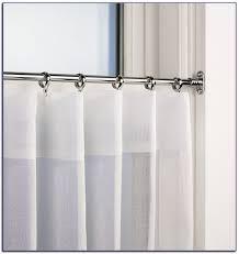 decorative curtainods target lowes long tensionod kitchen