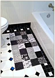 cool bathroom rugs with black and white square abstract pattern with black white bathroom rugs